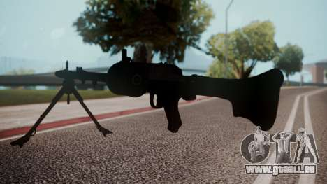 MG-34 Red Orchestra 2 Heroes of Stalingrad für GTA San Andreas dritten Screenshot