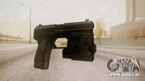 USP 45 from CoD MW pour GTA San Andreas