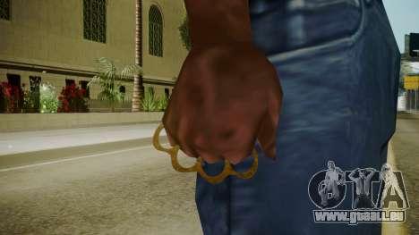 Atmosphere Brass Knuckles v4.3 pour GTA San Andreas troisième écran