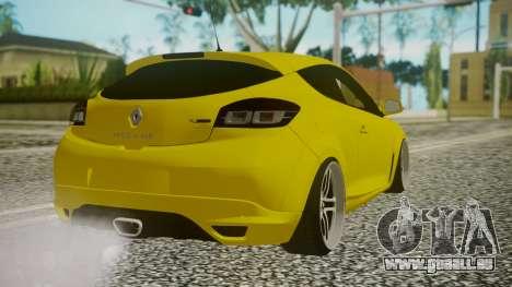 Renault Megane RS für GTA San Andreas linke Ansicht
