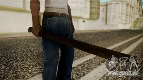Machete from Friday the 13th Movie pour GTA San Andreas