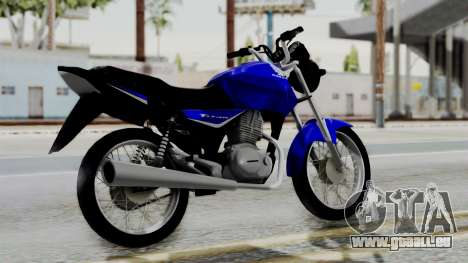 Honda CG Titan 2014 pour GTA San Andreas laissé vue
