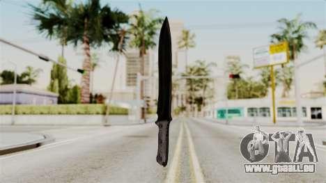 Knife from RE6 für GTA San Andreas zweiten Screenshot