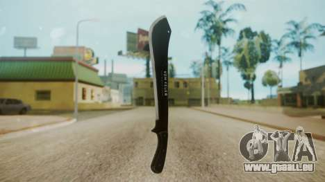 GTA 5 Machete (From Lowider DLC) pour GTA San Andreas