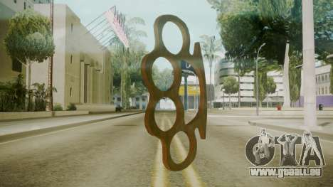 Atmosphere Brass Knuckles v4.3 pour GTA San Andreas