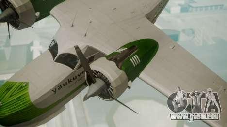 Grumman G-21 Goose DQAYL pour GTA San Andreas vue de droite