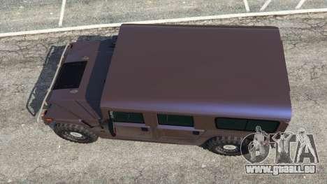 Hummer H1 v2.0 für GTA 5
