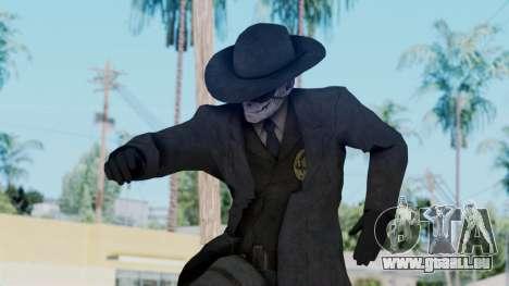 SkullFace Mask and Hat für GTA San Andreas