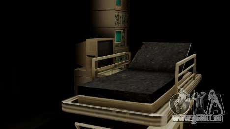 GTA 5 Brute Ambulance IVF für GTA San Andreas Innenansicht
