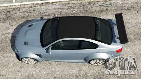 GTA 5 BMW M3 (E92) WideBody v1.0 Rückansicht