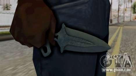 L'Ombre De La Dague Ночь pour GTA San Andreas troisième écran
