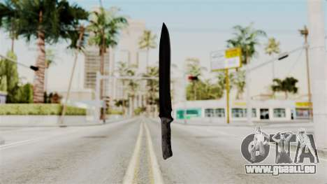 Knife from RE6 für GTA San Andreas