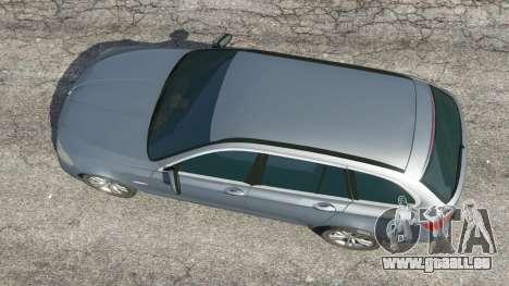 GTA 5 BMW 525d (F11) Touring 2015 (US) Rückansicht