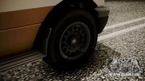 GTA 5 Brute Ambulance IVF für GTA San Andreas zurück linke Ansicht