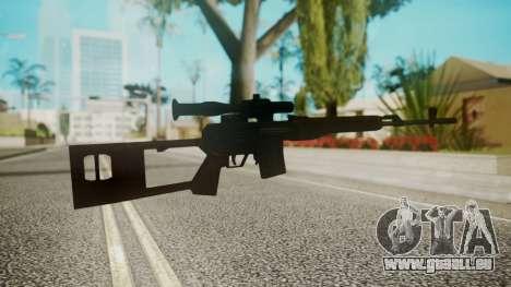 Sniper Rifle by EmiKiller pour GTA San Andreas deuxième écran
