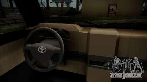 Toyota Kijang Tuned Stance pour GTA San Andreas vue de droite