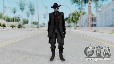 SkullFace Mask and Hat pour GTA San Andreas deuxième écran