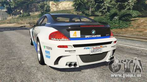 GTA 5 BMW M6 (E63) WideBody v0.1 [Volk Racing Wheel] hinten links Seitenansicht