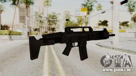 M4 from RE6 pour GTA San Andreas deuxième écran
