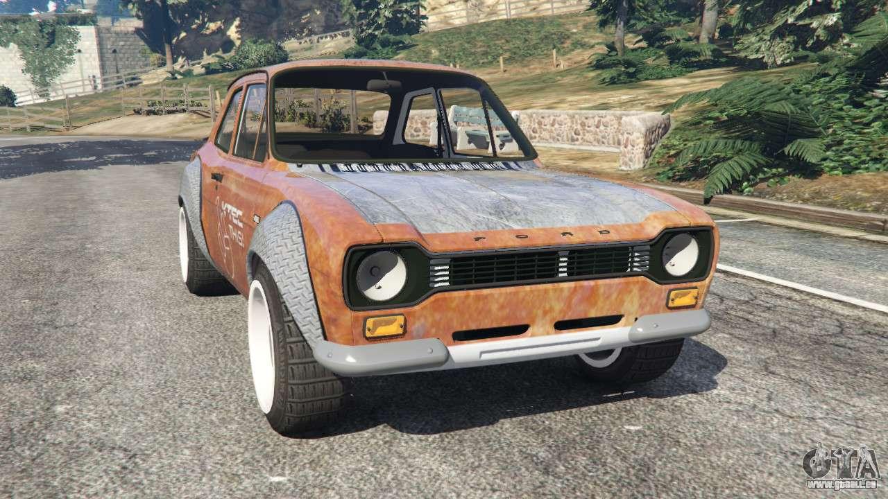 Hoonigan Escort >> Ford Escort MK1 v1.1 [Hoonigan] für GTA 5