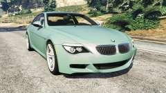BMW M6 (E63) Tunable