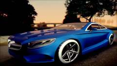 Mercedes-Benz S Coupe Vossen cv5 2014 für GTA San Andreas
