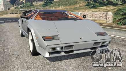Lamborghini Countach LP500 QV 1988 v1.2 pour GTA 5