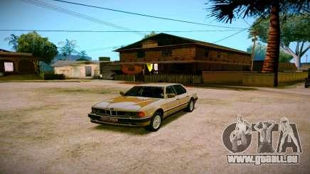 BMW 735il E32 1992 pour GTA San Andreas