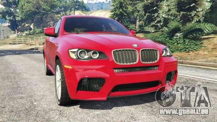 BMW X6 M (E71) pour GTA 5