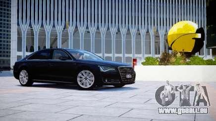 Audi A8L W12 2013 pour GTA 4