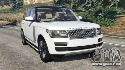 Range Rover Vogue 2013 v1.2 pour GTA 5