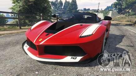 Ferrari FXX-K 2015 v1.1 pour GTA 5