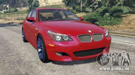 BMW M5 (E60) 2006 pour GTA 5