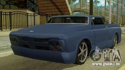 Kounts Pickup PaintJob für GTA San Andreas