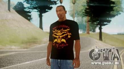Brock Lesnar Shirt v1 für GTA San Andreas