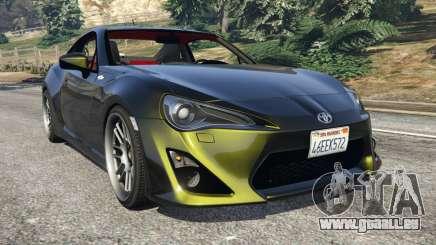 Toyota GT-86 v1.2 für GTA 5