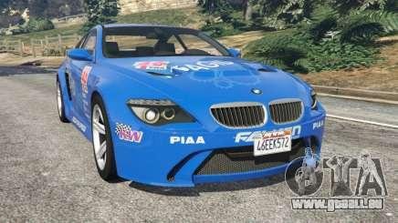 BMW M6 (E63) WideBody v0.1 [Pagid RS] für GTA 5