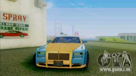 Rolls-Royce Ghost Mansory pour GTA San Andreas
