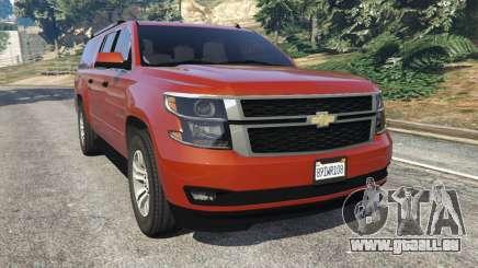 Chevrolet Suburban 2015 pour GTA 5