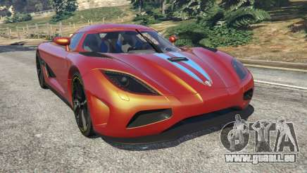 Koenigsegg Agera v0.8.5 [Early Beta] für GTA 5