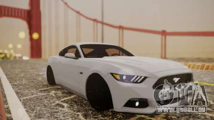 Ford Mustang GT 2015 Stock pour GTA San Andreas