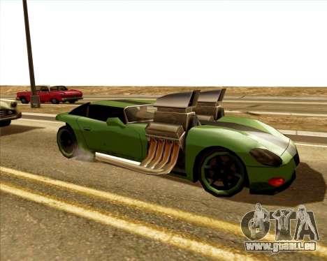 Banshee Twin Mill III Hot Wheels für GTA San Andreas linke Ansicht