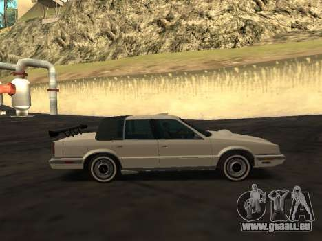Chrysler New Yorker 1988 pour GTA San Andreas moteur