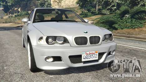 BMW M3 (E46) pour GTA 5