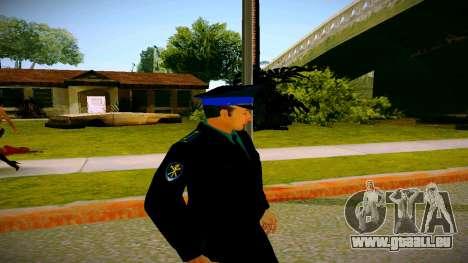 L'employé du Ministère de la Justice v3 pour GTA San Andreas troisième écran