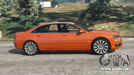Audi A8 v1.1 pour GTA 5