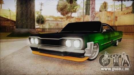 Savanna Ganstar Lowrider für GTA San Andreas