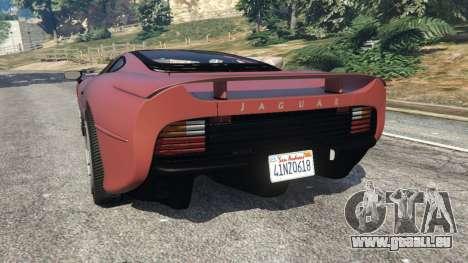 GTA 5 Jaguar XJ220 v1.0 hinten links Seitenansicht