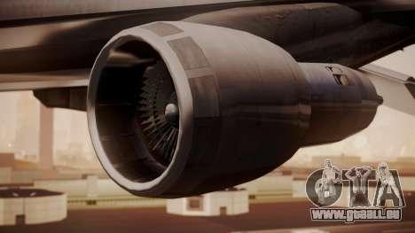 Boeing 747-200 Evergreen International Airlines pour GTA San Andreas vue de droite