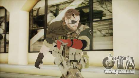MGSV Phantom Pain Snake Scarf Wetwork pour GTA San Andreas